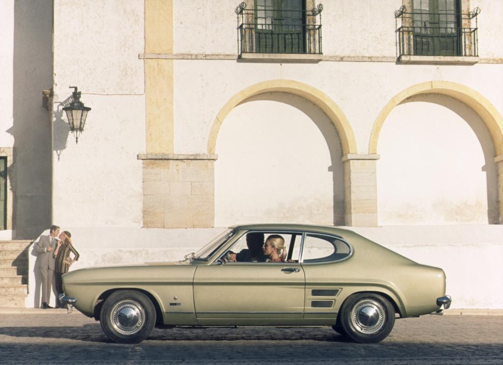 Auch am Start ist ein Ford Capri.