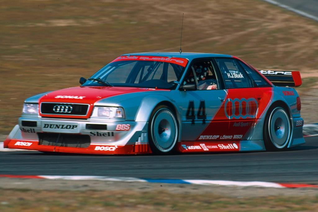 Auch bei der DTM fuhr der Audi Erfolge ein