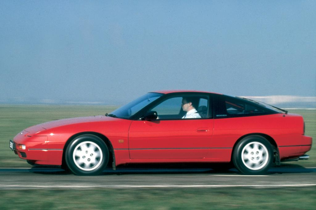 Auch heute noch von Zeit zu Zeit zu sehen: der Nissan 200SX
