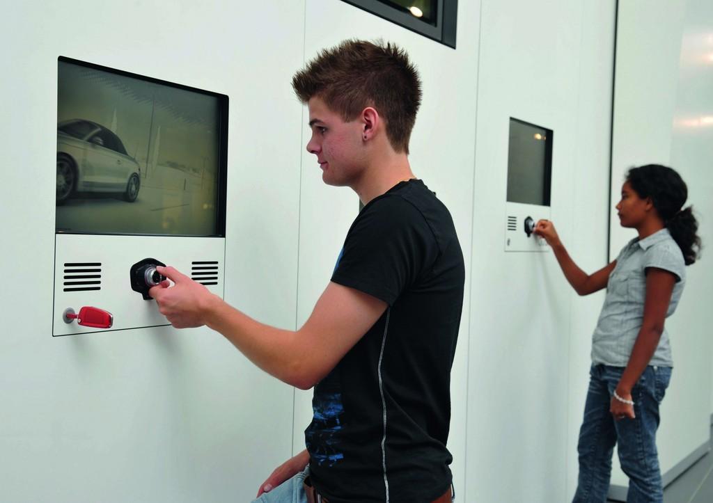Audi-Forum Neckarsulm: Fahrsimulatoren für Kinder und Jugendliche im Alter von 7 bis 17 Jahren