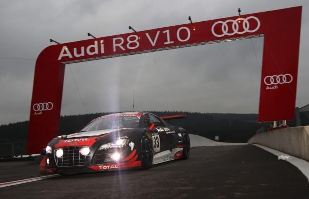 Audi R8 LMS gewinnt die 24 Stunden von Spa