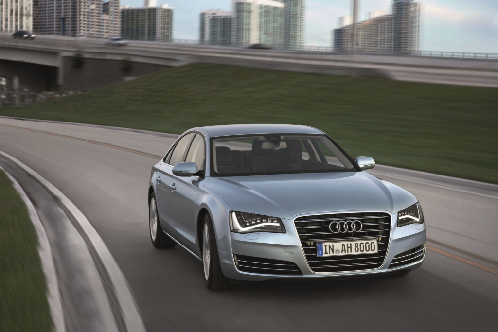 Audi bringt den Hybrid in die Oberklasse
