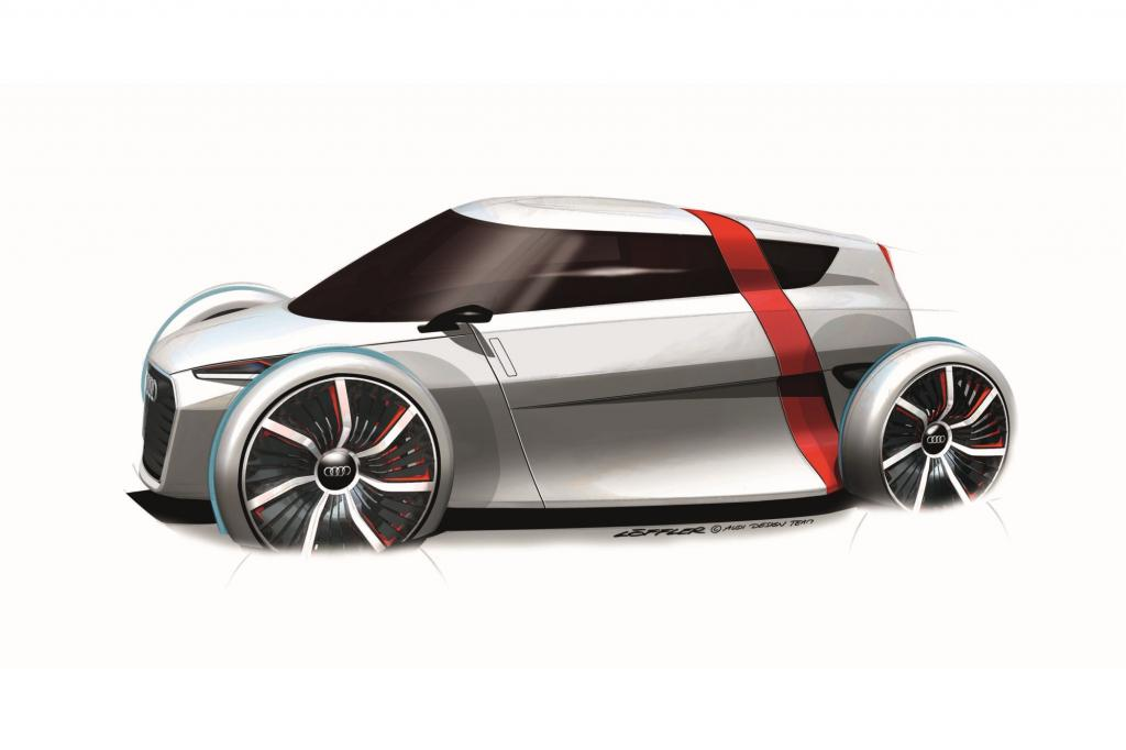 Audi ist mit dem futuristischen Urban Concept auf der IAA vertreten