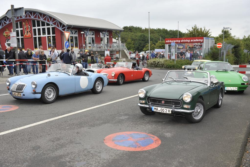 Auf dem Oldtimer Grand Prix auf dem Nürburgring dreht sich naturgemäß alles rund ums Thema automobile Klassiker.