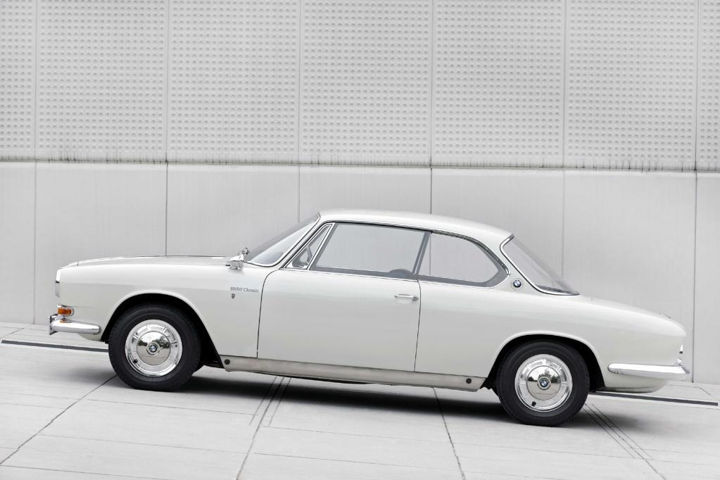 BMW 3200 CS: Der heimliche Star der IAA 1961 wird 50
