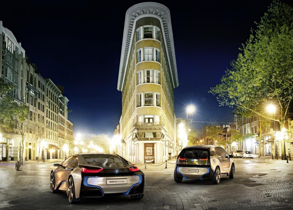 BMW i3 und i8