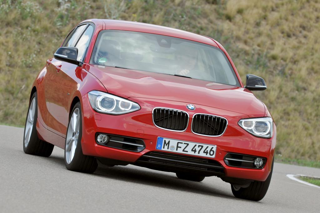 BMW schickt den neuen 1er ins Rennen