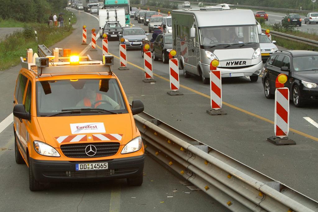 Bauarbeiten ohne Verkehrsstaus
