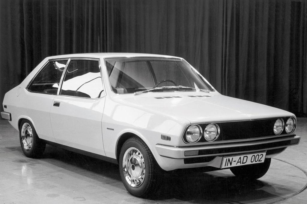 Bertones Designvorschlag für den Audi 80