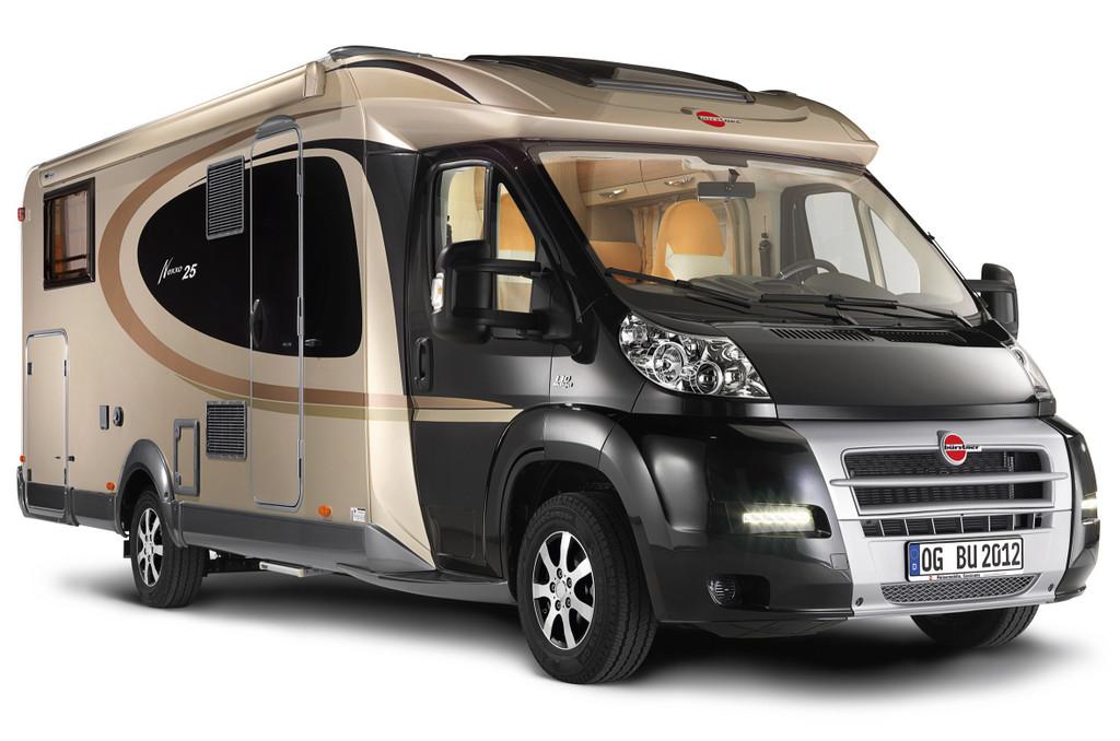 Caravan-Salon 2011: Bürstner feiert 25 Jahre Reisemobile
