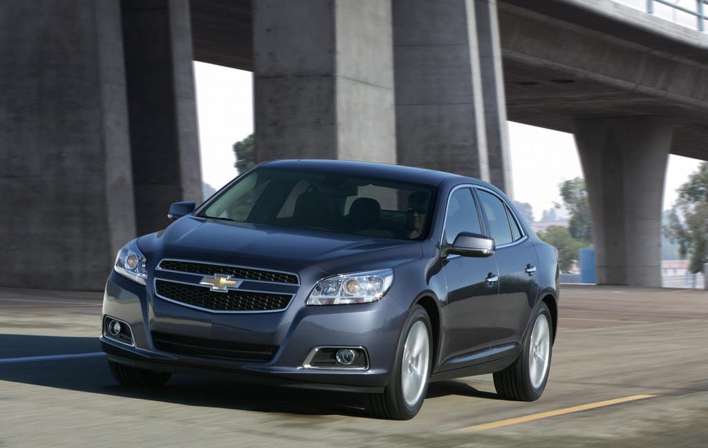 Chevrolet Malibu.