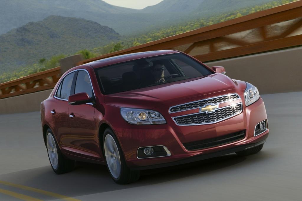 Chevrolet zeigt den Malibu