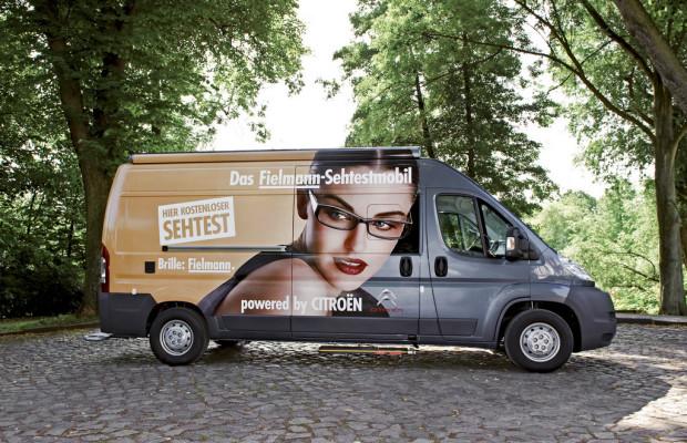 Citroën unterstützt mit einem Jumper kostenlose Sehtests