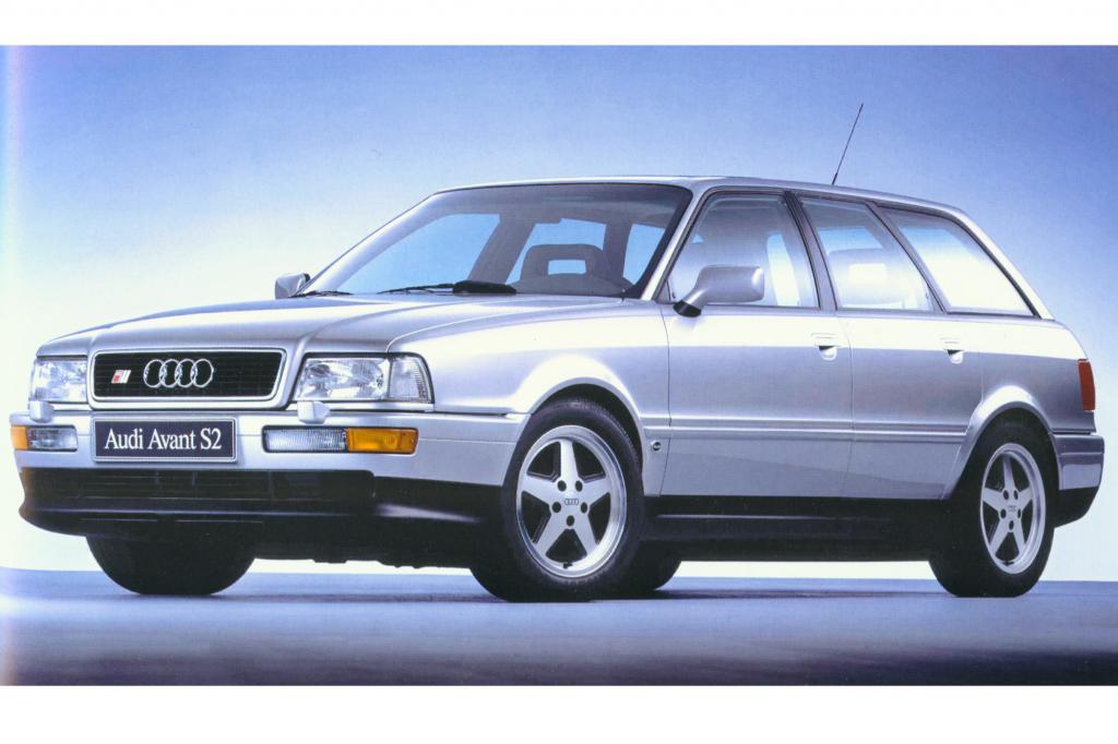 Der Audi 80 Avant S2 von 1994