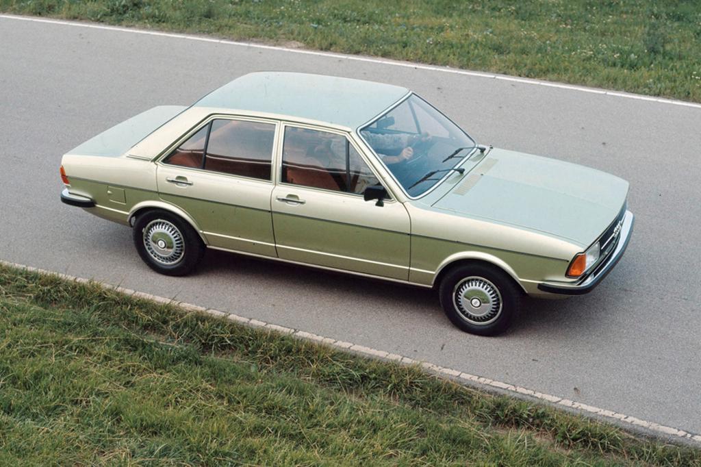 Der Audi 80 im Jahr 1977