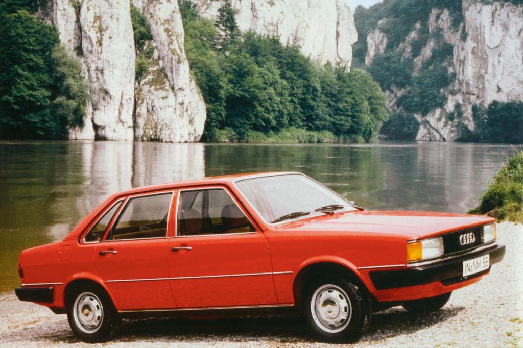 Der Audi 80 im Jahr 1978