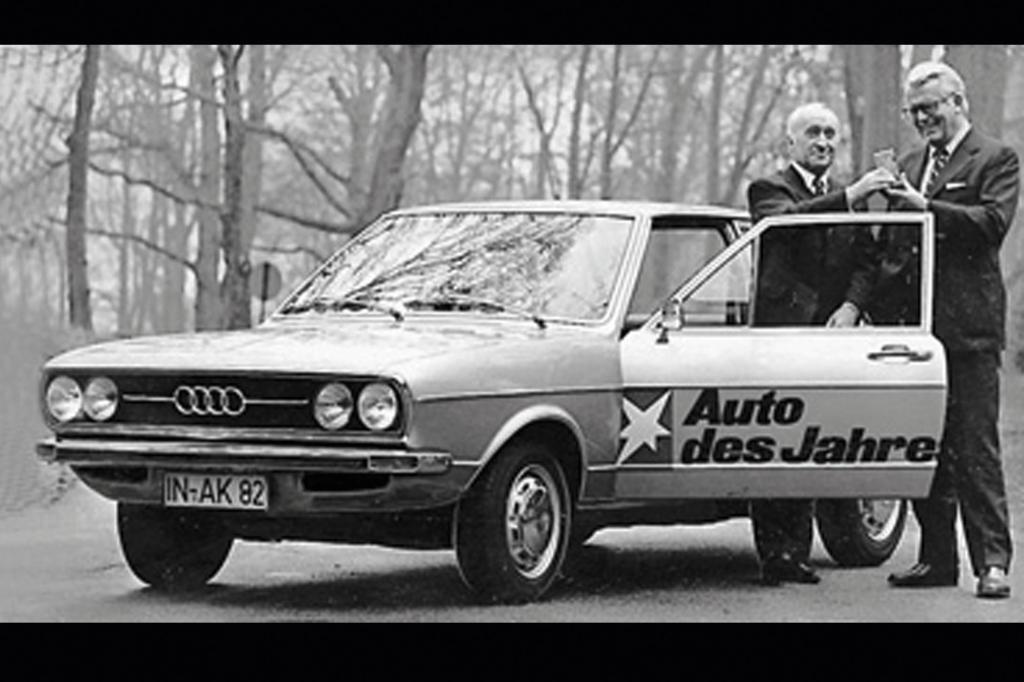 Der Audi 80 war Auto des Jahres 1972