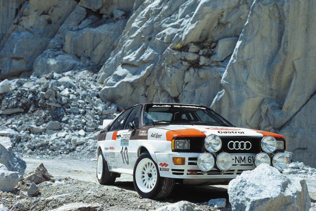 Der Audi Quattro ist eine Rallyesport-Legende