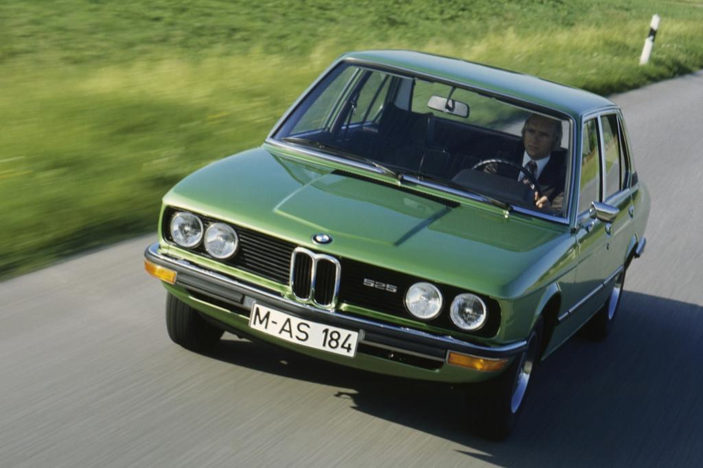 Der BMW 5er von 1972.