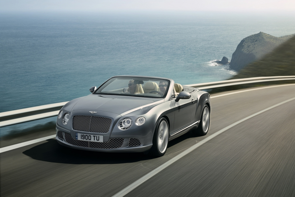 Der Bentley Continental GTC wurde stark überarbeitet