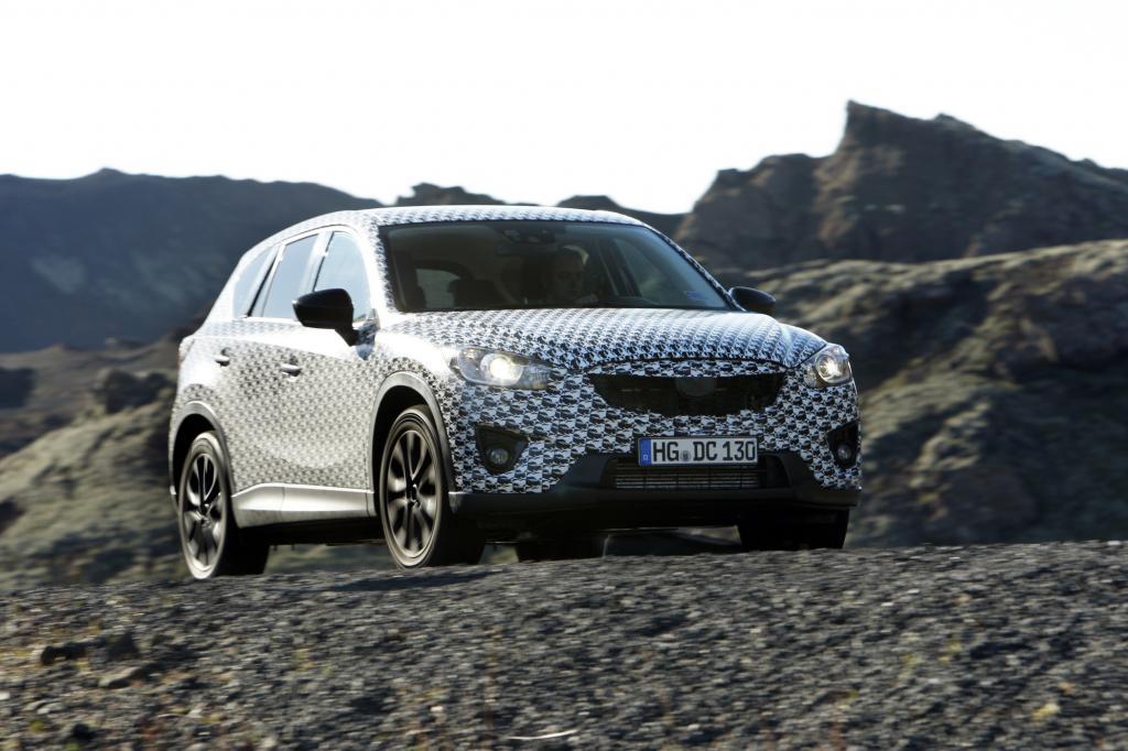 Der CX-5 ist der erste Mazda aus der Feder des neuen Designchefs Ikeo Maeda
