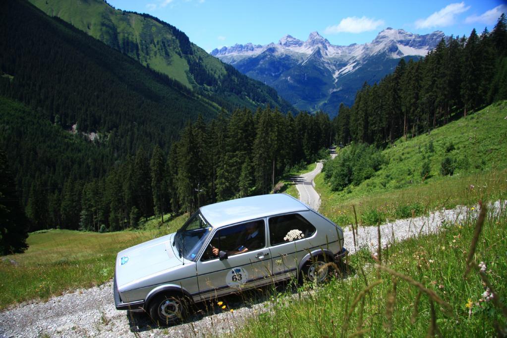 Der Golf GTI lässt sich aber auch langsam ruckelfrei fahren.