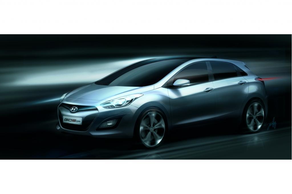 Der Hyundai i30 präsentiert sich stark geliftet