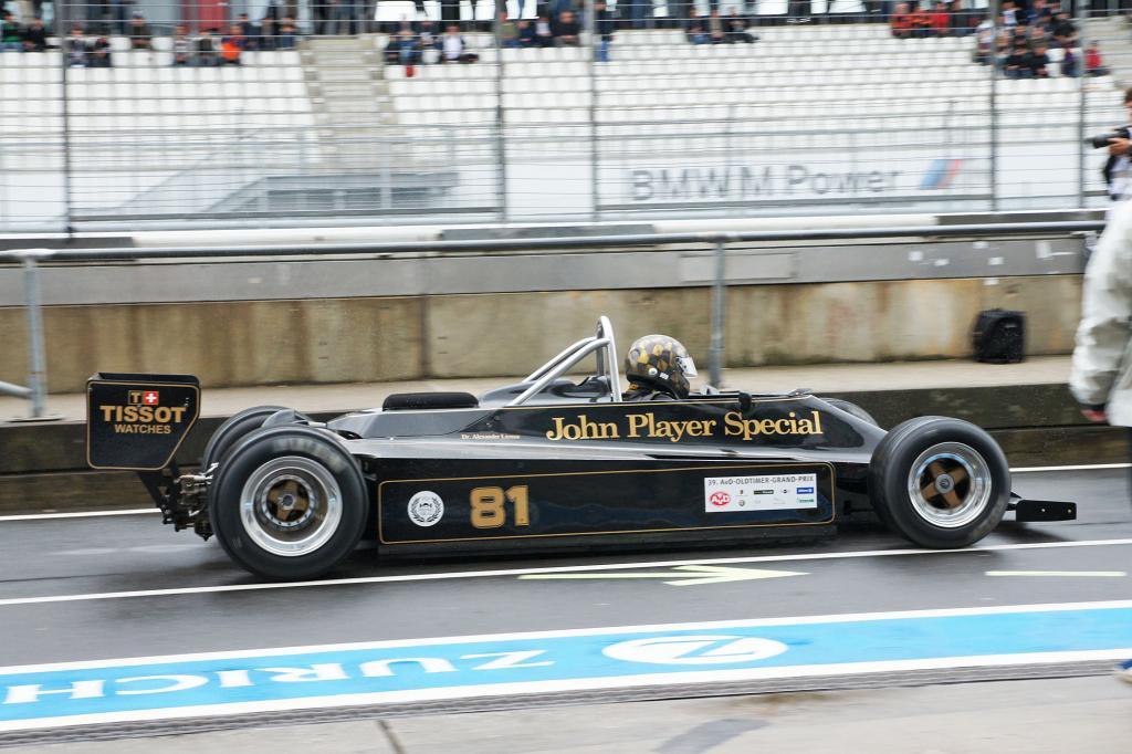 Der Lotus 81 von 1980