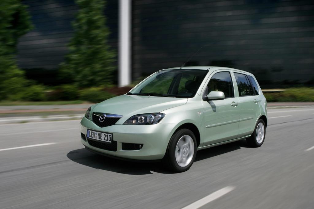 Der Mazda2 ist ein Muster an Zuverlässigkeit