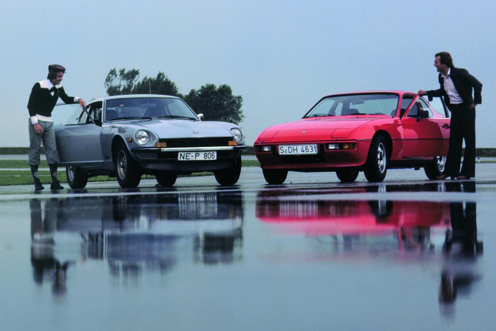 Der Nissan 260Z gegen den Porsche 924