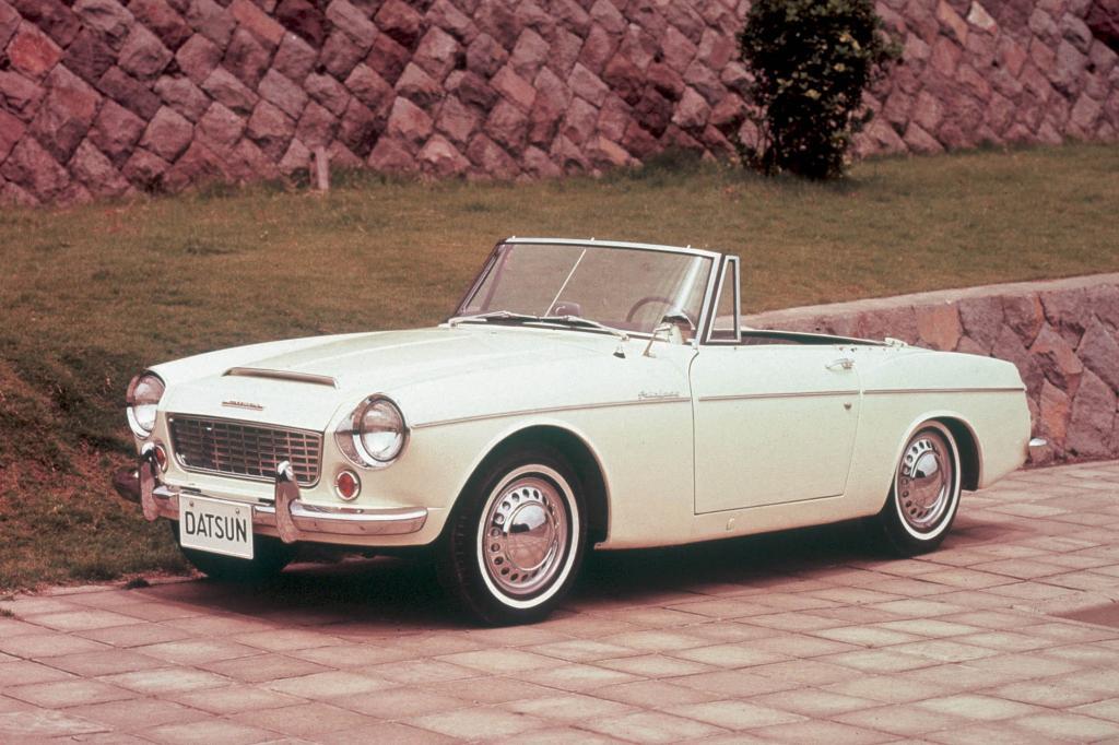 Der  Nissan Fairlady 1500 Sport von 1962