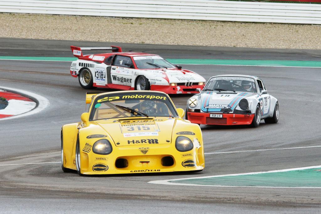 Der Oldtimer Grand Prix ist zum Mekka für Oldie- und Rennsportfans geworden