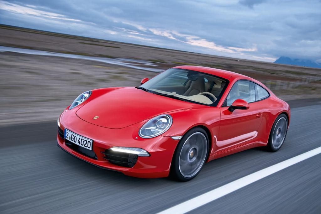 Der Porsche 911 geht in neuer Generation an den Start