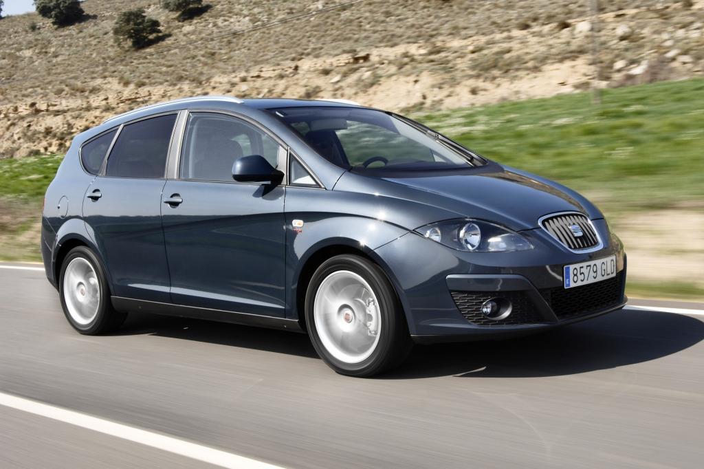 Der Seat Altea XL Kombi ist deutlich billiger als der verwandte VW Touran