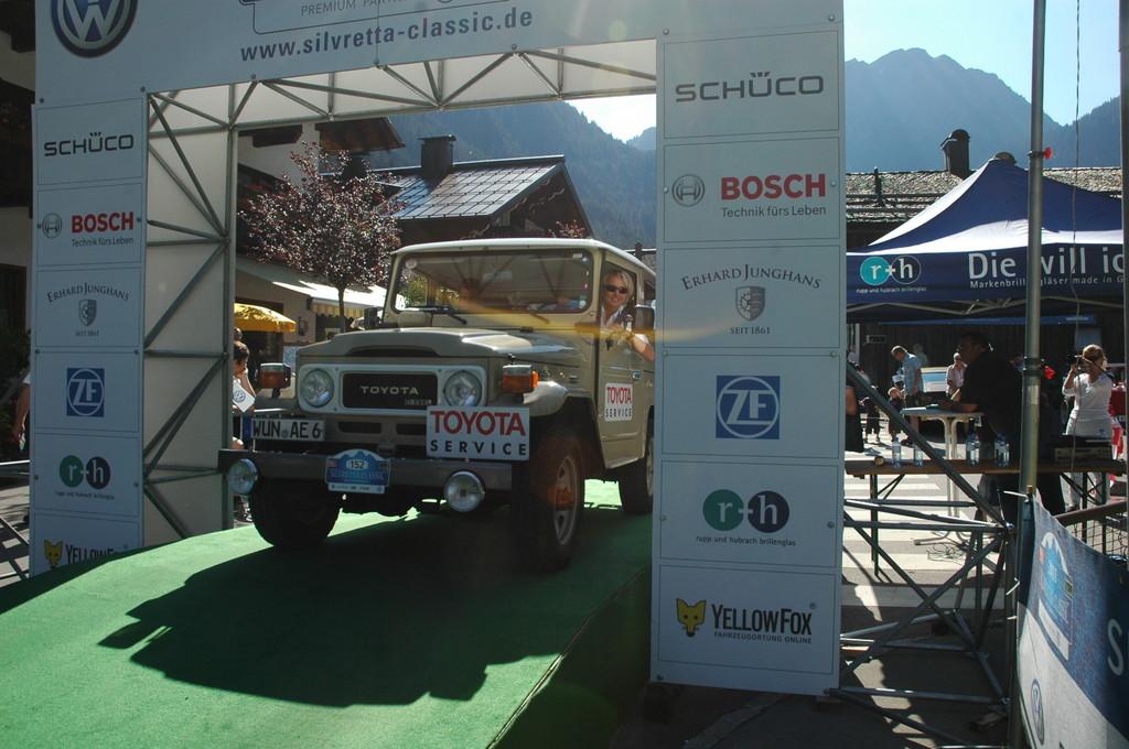 Der Toyota Land Cruiser BJ42 aus dem Jahr 1982 mit der ehemaligen Rallye-Weltmeisterin Isolde Holderied, errang er jüngst den Gesamtsieg der Silvretta Classic.