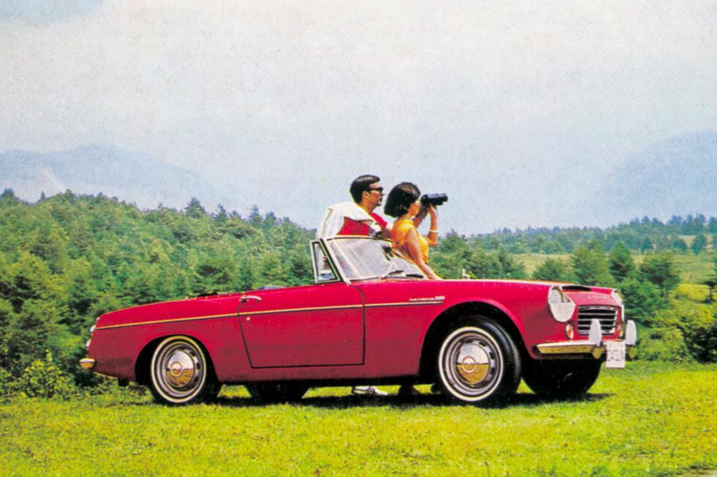 Der erste japanische Roadster sorgte auch auf US-Highways für Furore