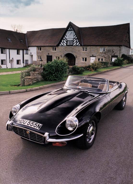 Der letzte gebaute Jaguar E-Type.