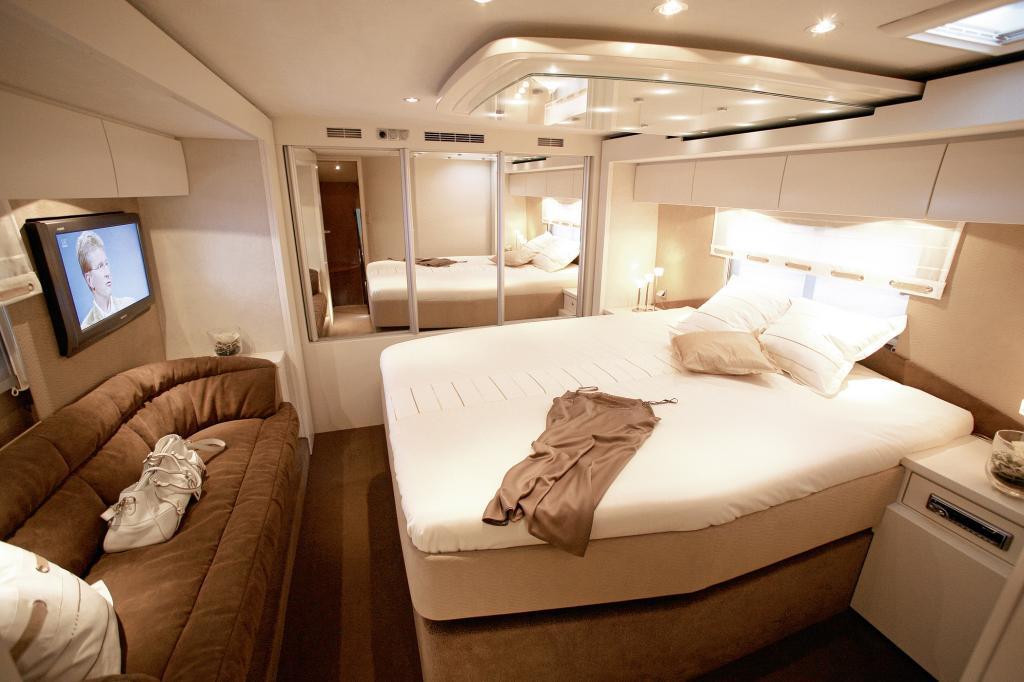Die Betten sind extra groß