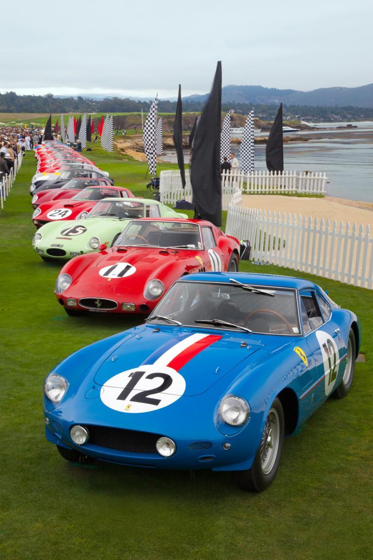 Die Ferrari 250 GTO sind exorbitant teuer.