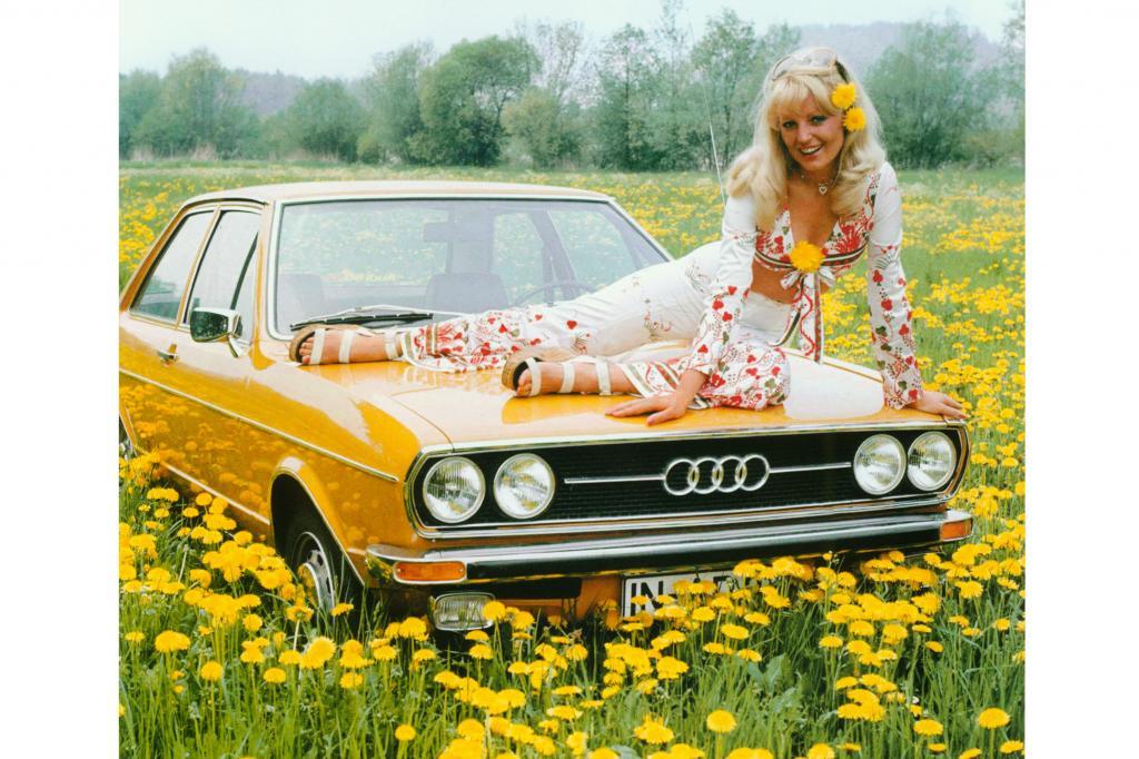 Die Flower-Power-Zeit ging auch an Audi nicht spurlos vorbei
