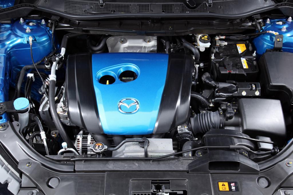 Die Motoren wurden neu entwickelt
