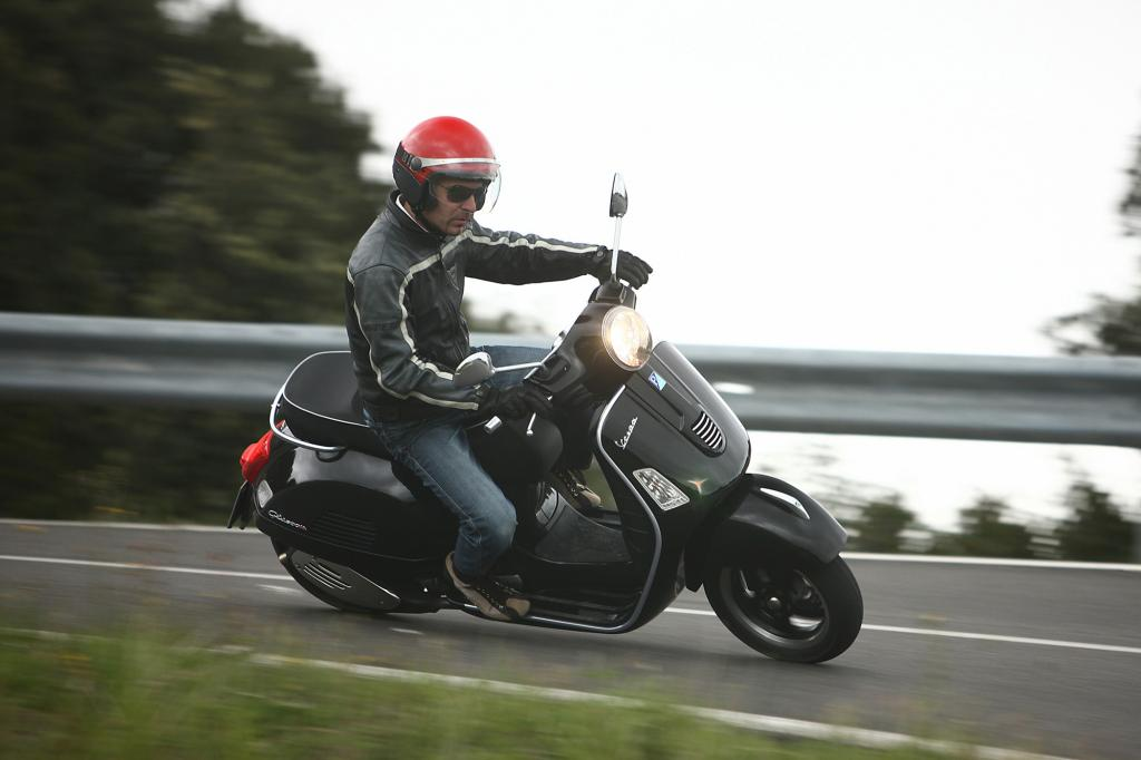 Die Vespa 300 GTS Super ist nicht irgendein Roller