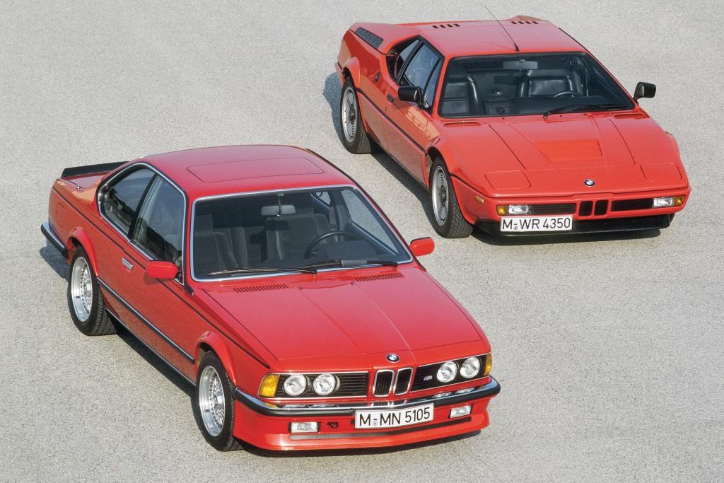 Die erste Generation des BMW 6er.