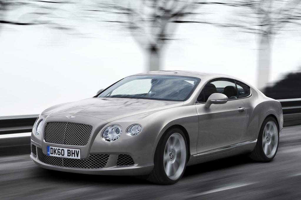 Die leistungsstärksten Autos gehören zu der Luxusmarke Bentley.