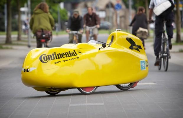 Die schnellste Radlerin der Welt