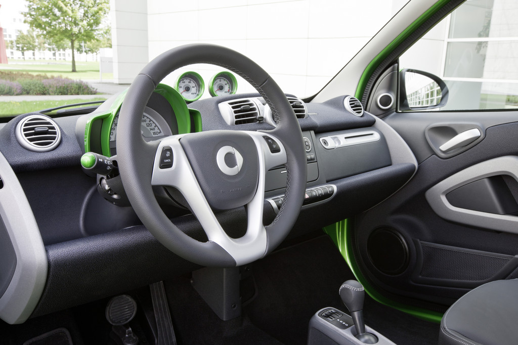 Dritte Generation Smart Fortwo Electric Drive: App mit Rädern