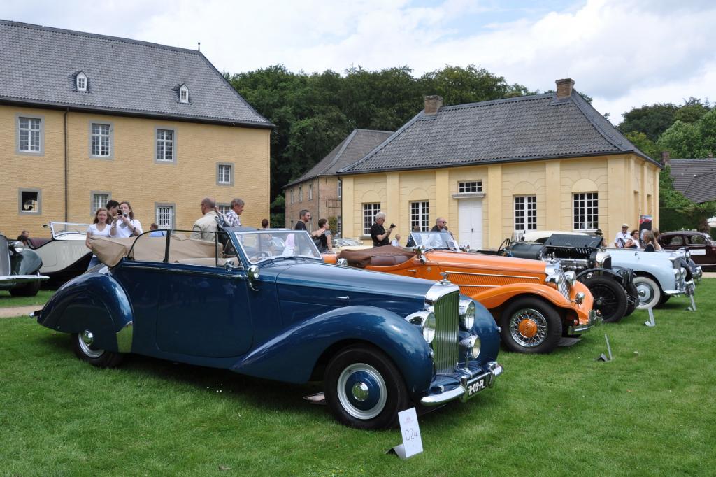 Edel: Bentley Mark VI Drophead Coupe Pourtout von 1950