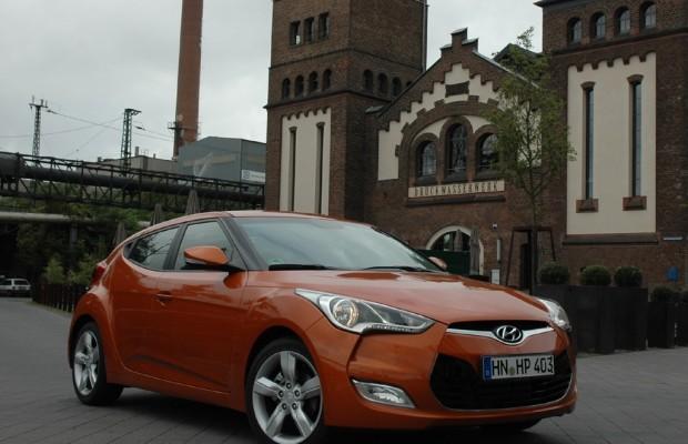 Eins plus zwei: Hyundai-Citycoupé Veloster startet mit 140-PS-Benziner im September