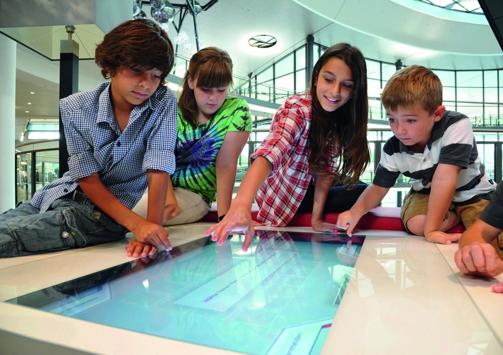 Erlebniswelt für Kinder und Jugendliche im Audi-Froum Neckarsulm.