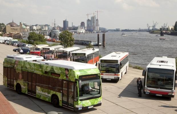 Erste Mercedes-Benz Citaro Fuel Cell Hybrid verkehren in Hamburg
